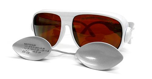 Laserschutzbrille zum Schutz des Augen während der Behandlung
